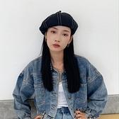 貝雷帽英倫復古畫家帽休閒百搭八角帽【少女顏究院】