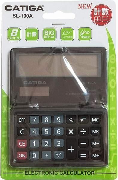 CATIGA攜帶式8位計算機SL-100A