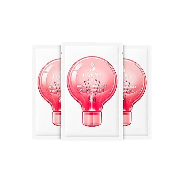 韓國 LadyKin 小燈泡童顏安瓶精華(2mlx30片)盒裝【小三美日】