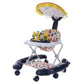 嬰兒幼兒童寶寶學步車多功能防側翻防o型腿手推可摺疊男女孩學行 igo  薔薇時尚