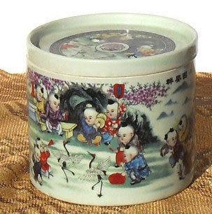 景德鎮陶瓷 蛐蛐叫罐