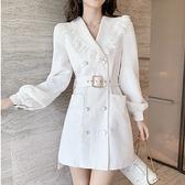 現貨M洋裝禮服宴會裙小香風C0568.