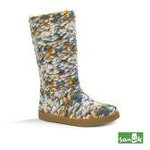 SANUK 針織軟羊毛長筒靴-女款1016023 DTSP(多色)