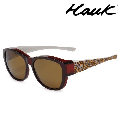 HAWK偏光太陽套鏡(眼鏡族專用)HK1021-88