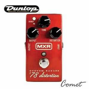 Dunlop M78 破音效果器【Dunlop品牌/MXR Custom Badass '78 Distortion /M-78】