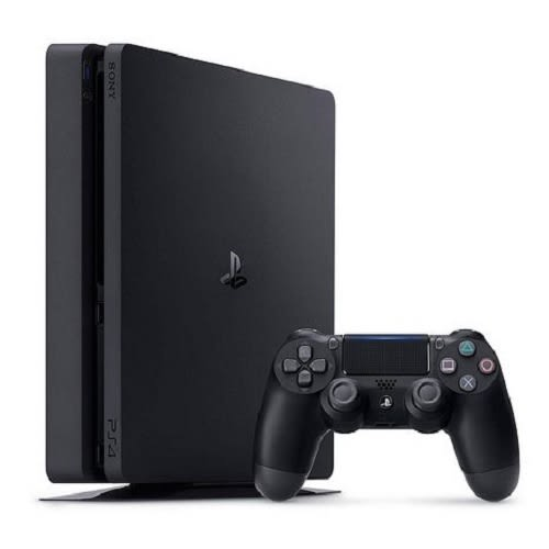 SONY PS4 主機 CUH-2218系列 500G(黑)+遊戲2片 (NBA 2K19 + DISSIDIA FINAL FANTASY NT)