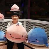 公仔 海豚毛絨玩具小號掛件可愛鯨魚布娃娃睡覺抱枕軟體羽絨棉玩偶 - 古梵希
