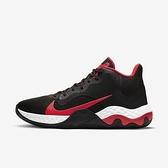 Nike Renew Elevate [CK2669-003] 男鞋 籃球鞋 貼合 包覆 舒適 柔軟 支撐 止滑 黑 紅