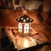 鹽燈 水晶鹽燈歐式創意小台燈主臥室燈婚慶床頭小夜燈鐵藝燈具燈飾