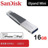 【免 】SanDisk iXpand Mini 16GB 隨身碟OTG 雙介面iPhone