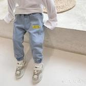 男童牛仔褲春秋款童裝夏兒童韓版4-5歲褲子寶寶洋氣休閒褲長褲潮 FX5305 【MG大尺碼】