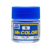 GSI 郡氏 MR.COLOR 組裝模型工具 005 藍色 光澤 硝基漆 油性顏料 TOYeGO 玩具e哥