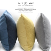 抱枕北歐簡約棉麻抱枕靠墊客廳沙發腰枕套 長方形純色抱枕ins靠枕護腰