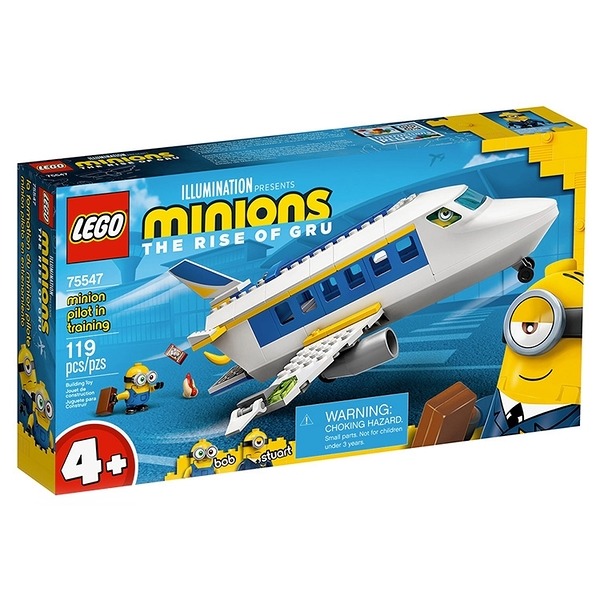 LEGO樂高 小小兵電影系列 Minion Pilot in Training_ LG75547
