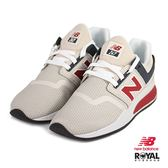 New Balance 新竹皇家 247 米色 網布 套入式 運動鞋 女款 NO.I9183