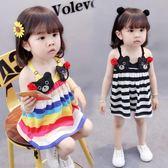 女寶寶吊帶裙夏裝0-1歲2女童公主裙夏季2018新款3正韓4嬰兒連衣裙