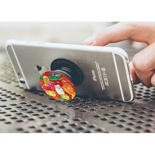 【免運費】PopSockets泡泡騷 時尚多功能手機支架--( 粉)★