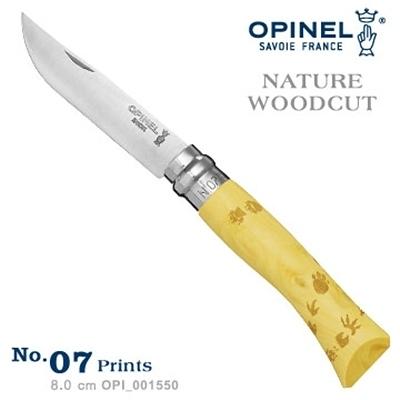 OPINEL NATURE - WOODCUT 法國刀自然圖騰系列-腳印圖騰 No.07 #OPI_001550【AH53038】i-style居家生活
