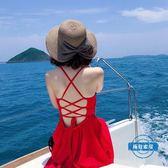 草編包太陽帽女沙灘遮陽帽海邊休閒青年大草帽檐女士出游英倫防曬帽子夏