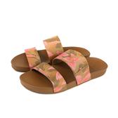 reef 寬版拖 拖鞋 棕色 木槿花 女鞋 RF0A3OKSHIB no352