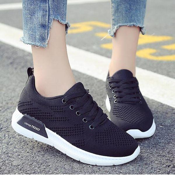 女運動鞋女鞋跑步鞋 夏季新款輕便運動鞋女透氣減震耐磨休閒鞋慢跑鞋運動鞋【蘇迪蔓】