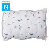 接觸涼感 枕頭保潔墊 N COOL O 20 SEA 海洋 NITORI宜得利家居