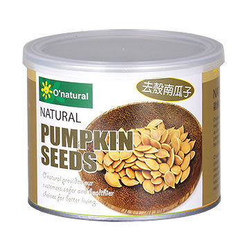 歐納丘~純天然南瓜子(原味)200公克/罐