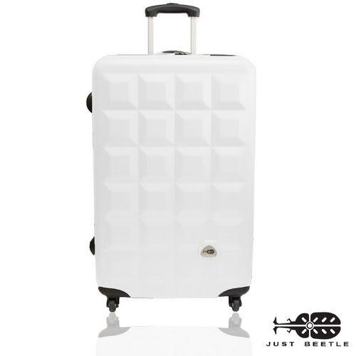 行李箱28吋 ABS材質 愛上巧克力系列【Justbeetle】