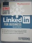 【書寶二手書T9/大學商學_ZJL】Ultimate Guide to Linkedin for Business_Prodromou, Ted/ Malinchak, James (FRW)
