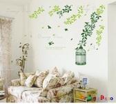 壁貼【橘果設計】鳥籠 DIY組合壁貼/牆貼/壁紙/客廳臥室浴室幼稚園室內設計裝潢