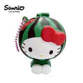 西瓜款【日本進口】Hello Kitty 凱蒂貓 水果造型 捏捏吊飾 吊飾 捏捏樂 軟軟 三麗鷗 Sanrio - 614643