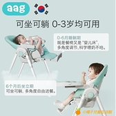 寶寶餐椅嬰兒童餐桌座椅吃飯多功能便攜式可折疊家用學坐椅子【小橘子】
