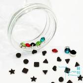 【Hera 赫拉】5入99免運-吸磁貼單顆鋯石/磨砂耳環(款式隨機各一)
