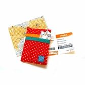 護照套 (紅色點點)【WaWu】