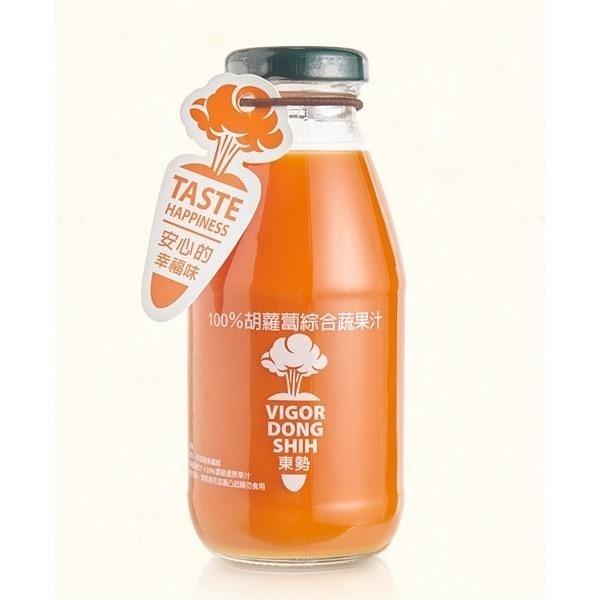 【南紡購物中心】【VDS活力東勢】胡蘿蔔綜合蔬果汁290ml*24瓶/箱