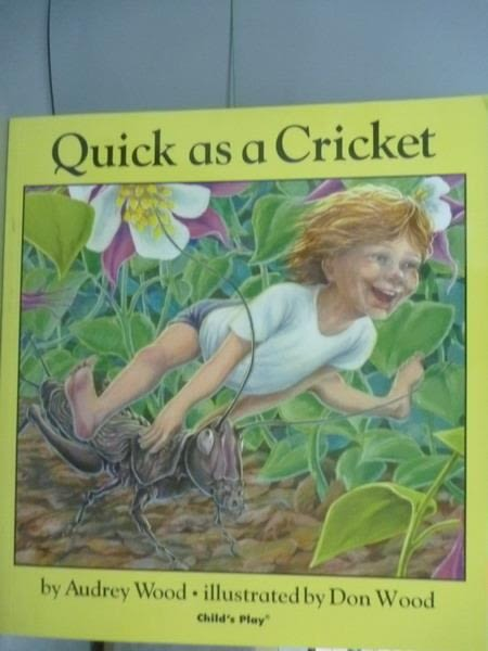 【書寶二手書T9/原文小說_PFD】Quick as a Cricket_Audrey Wood