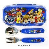 *妮好快樂*韓國直送_TOBOT不鏽鋼兒童餐具組盒裝