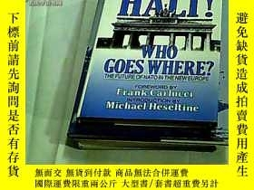 二手書博民逛書店HALT罕見! WHO GOES WHERE? THE FUTU
