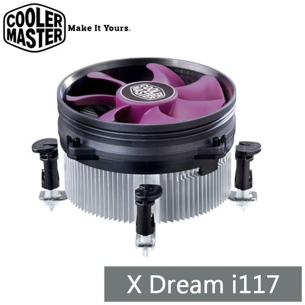 CoolerMaster X Dream i117 CPU 散熱器 酷媽 RR-X117-18FP