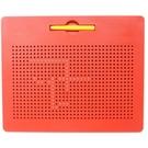 鋼珠磁力畫板 兒童磁性鋼珠寫字板+10張引導板(盒裝)/一個入(促500) 5Q益智磁力珠畫板 磁性畫板-辰