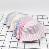 漁夫帽 素色 格紋 簡約 盆帽 雙面 防曬 可折疊 遮陽帽 漁夫帽【YFM426】 BOBI  08/22