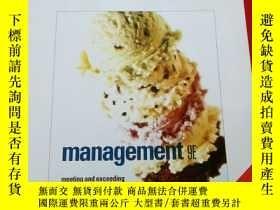 二手書博民逛書店Management:罕見Meeting and Exceedi