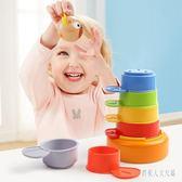 疊疊樂 寶兒1-2歲益智女寶寶認知疊疊套杯兒童層層疊嬰幼兒玩具 FR13547『俏美人大尺碼』