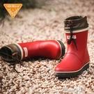 Jolly Walk/非常行雨鞋女短筒成人雨靴時尚防水鞋女士橡膠雨鞋 pinkQ 時尚女裝