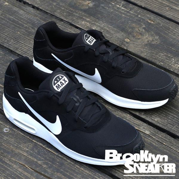 NIKE AIR MAX GUILE 黑網麂皮 白Logo 慢跑鞋 跑鞋 男 (布魯克林) 2017/9月 916768-004