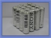 全館免運費【電池天地】SONY 新力3號AA 乾電池 碳鋅電池 16顆
