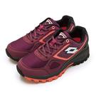 LIKA夢 LOTTO 專業防潑水郊山越野跑鞋 CROSS RUN 跨越叢林系列 葡紫黑 1052 女