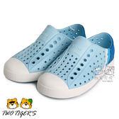 Native JEFFERSON BLOCK CHILD 小奶油頭 天空藍 小童鞋 NO.R2617