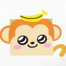 LOVIN 超萌韓版數字油畫可愛動物系列-M1香蕉猴1幅