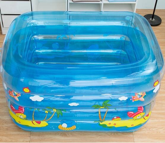 充氣泳池 兒童游泳池家用充氣幼兒童寶寶洗澡桶加厚保溫游泳戲水池浴盆【快速出貨八折下殺】
